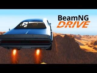 Безумный Прыжок сквозь Бездну - BeamNG.drive