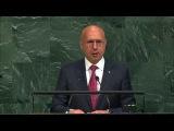 Выступление премьер-министра Молдовы Павла Филипа на Генассамблее ООН