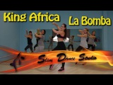 Latin Dance Fitness (Zumba) Workout for beginners Step By Step With Music King Africa La Bomba