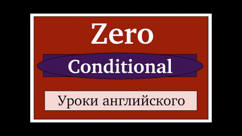 Zero Conditional. English lessons for beginners.