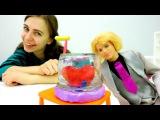 Поделки на 8 марта 🌺 Лепим из пластилина с Кеном 💖 Мастерская #Барби