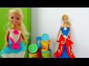 Одевалки Барби 👗 Платье Плей До 💃Собираемся на Бал 👠 Игры Барби для девочек