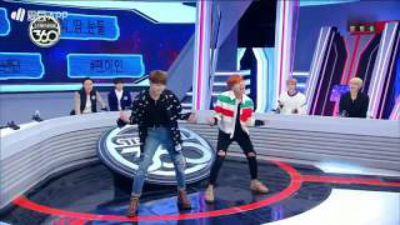 161107 BTS (방탄소년단) Star Show 360 (스타쇼360) JungKook J-hope Dancing Song Red Velvet and I.O.I very