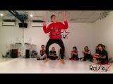 ЛЕША КУЗЬМИН - открытый урок HIP HOP RaiSky Dance Studio школа танцев  Современные танцы
