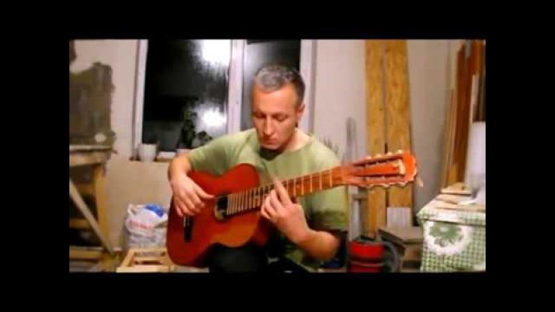 Попурри на темы Русских романсов, Семиструнная гитара.