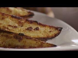 Картофельные дольки с чили и паприкой