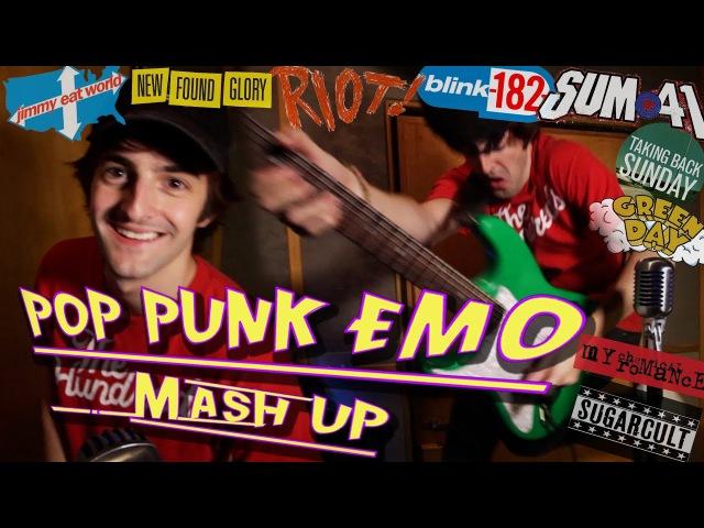 Pop Punk Mash Up!! (10 Popular Songs!)