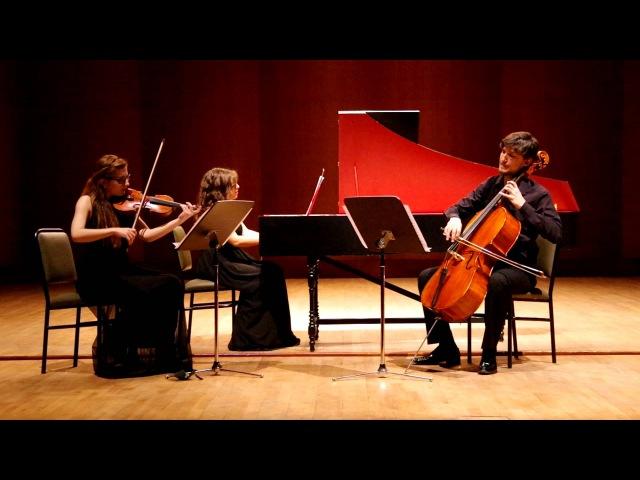 Joseph Bodin De Boismortier Trio Sonate Op.37 No.5 A minör