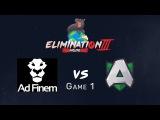 Elimination Mode 3 - Alliance vs Ad Finem - Game 1