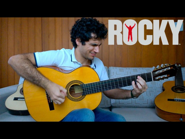 Gonna Fly Now (Theme from Rocky) - Fingerstyle Guitar (Marcos Kaiser) 57