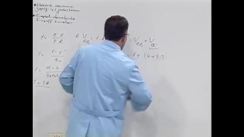 09. Kapalı Devrelerde Ohm Kanunu - joule Kanunu kirchhof Kuralları - LYS Fizik Hazırlık Seti