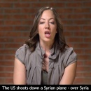 When will the Syrian government stop attacking US fighter jets illegally in Syria؟