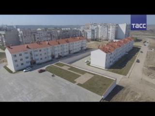 Керчане из санитарно-защитной зоны Крымского моста переезжают в новые дома