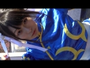 【C91】 あああアイドルだあああっ♥ 超かわいい!『ストリートファイター』 春麗(チュンリー)の美少女コスプレイヤーさん☆ 【COMIC MARKET(Comiket)91 Winter 2016】