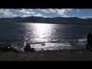 Озеро Банное 7 мая после похода, держим путь в Абзаково!