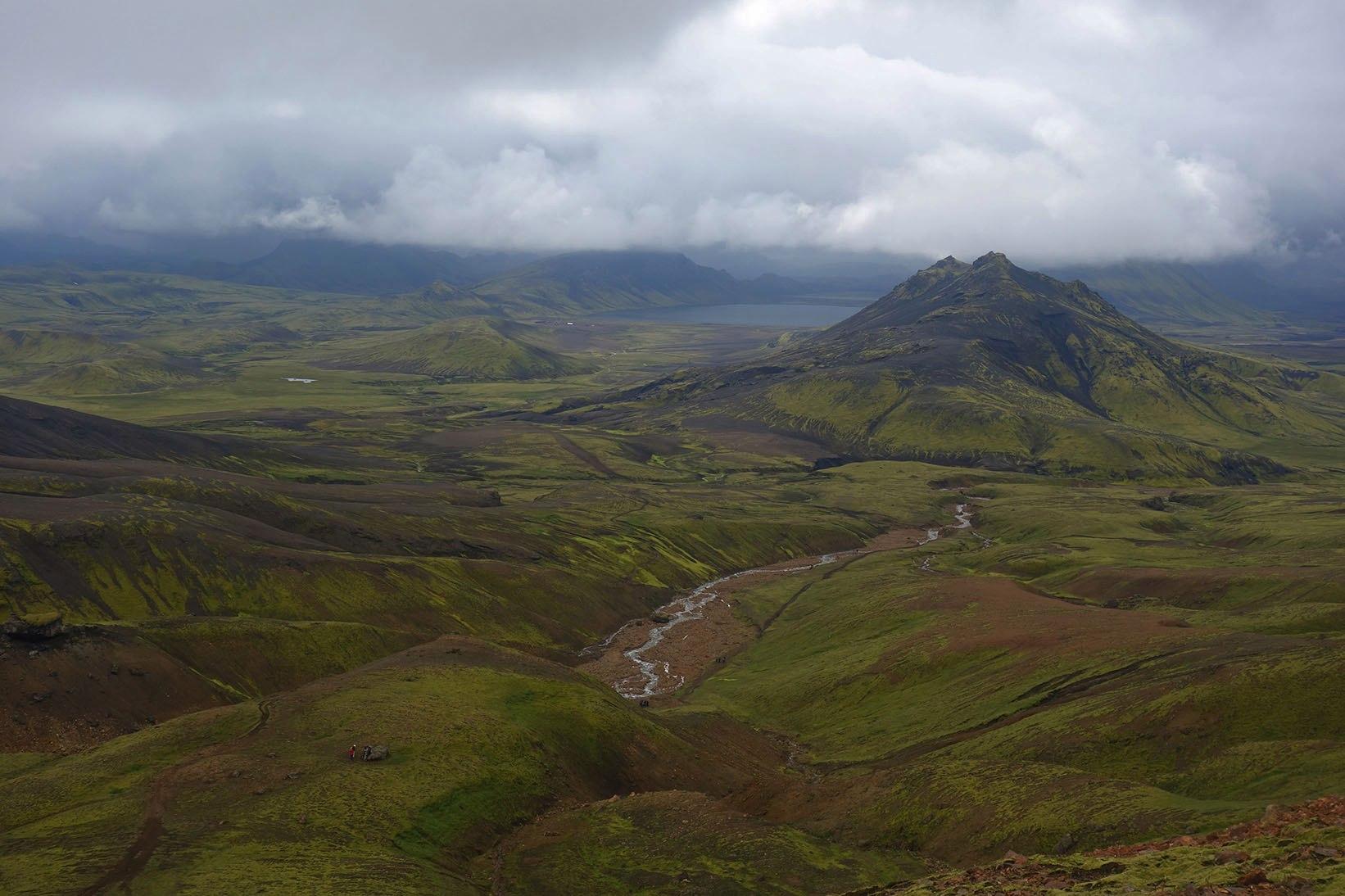 Исландия долина