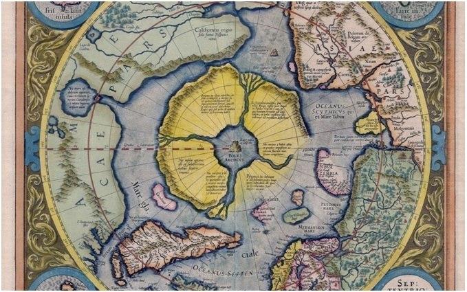 Северный полюс, магнитное поле Земли и полярный водоворот Wguw54iteVg