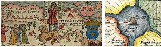 Северный полюс, магнитное поле Земли и полярный водоворот WcUCK3Glu4o