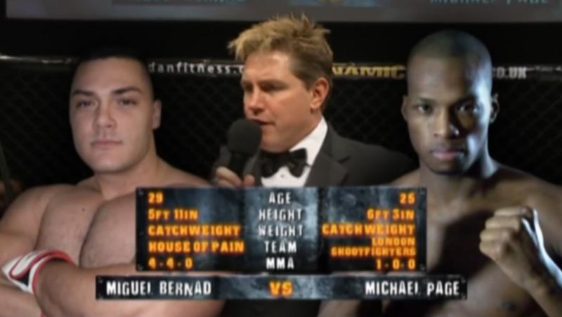 Michael Page vs Miguel Bernard | Майкл Пейдж - Мигель Бернард