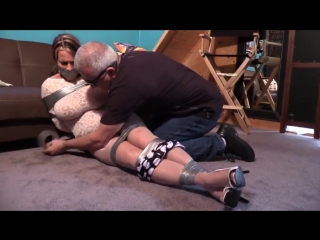 Goldie Blair Undercover MILF All Taped Up