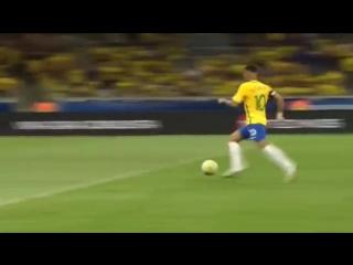 Neymar Goal - Brazil 2-0 Argentina (World Cup Qalification 2016)