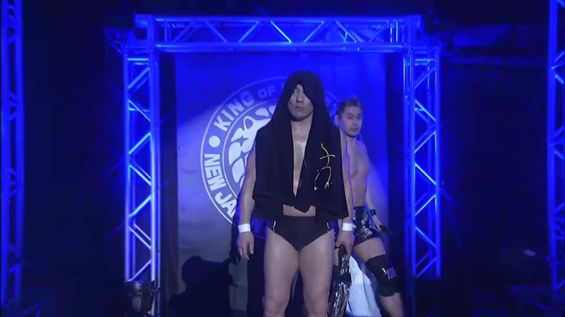 Hirooki Goto, YOSHI-HASHI, Will Ospreay vs. Minoru Suzuki, Taichi, TAKA Michinoku (NJPW - Wrestling Toyo no Kuni 2017)