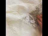 Платье кружево белого цвета Каролина Вог