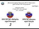 Финальный турнир Первенства МОА Черноземье среди юношей 2005 года рождения - Стыковые матчи - За 9-16 место - 1-ый тайм