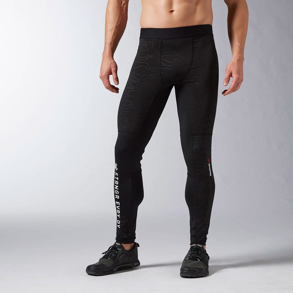 Утепленные компрессионные брюки Reebok ONE Series