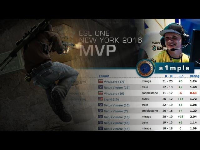 Самый ценный игрок ESL One - WCN-[05.10.2016]