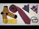Как подобрать галстук, нагрудный платок, носки, браслеты Мужские аксессуары.