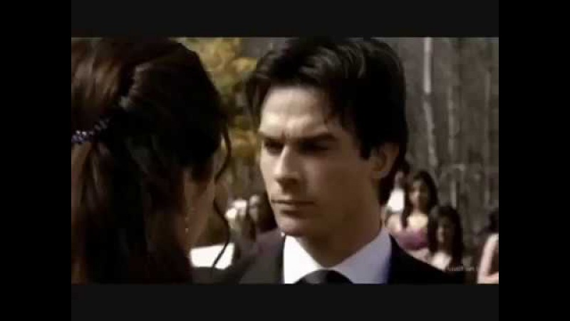 Дневники вампира (The Vampire Diaries, 2009-). Elena and Damon are dancing