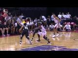 Thon Maker Hits the Deep 3 Pointer Bucks vs Cavaliers July 7 2017 2017 NBA Summer League