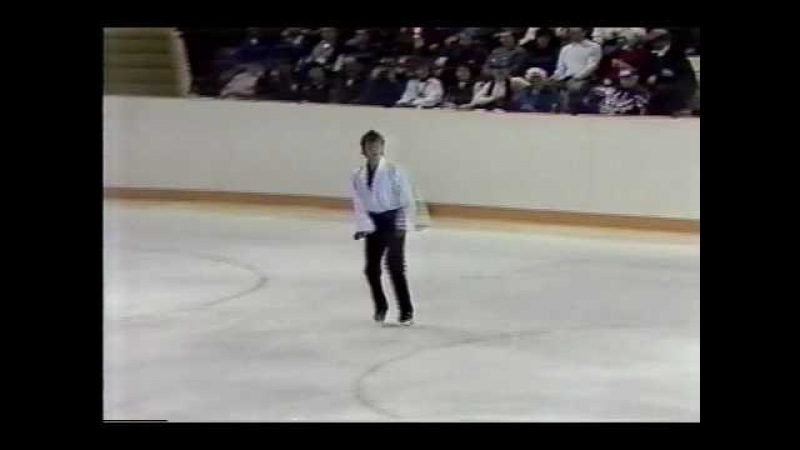 Viktor Petrenko URS 1988 Calgary Men's Short Program
