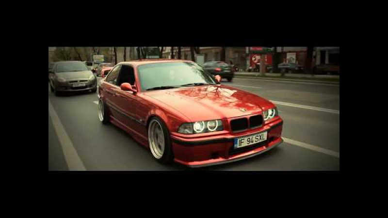 Bones - TheDeadMansTrunk / Stanced BMW E36/E46 Red Performance