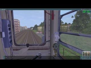 Trainz Simulator 12 - Импровизация Поездки по 6 линии Метро (ККЛ) - [© Let's play на Симуляторы]