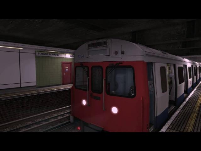 World of Subways Vol. 3: London Underground Circle Line - 6 линия ККЛ до Ручьёв - [© Симуляторы]