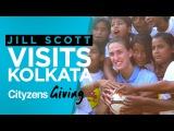 JILL SCOTT VISITS MAN CITYS GLOBAL COMMUNITY WORK IN KOLKATA!