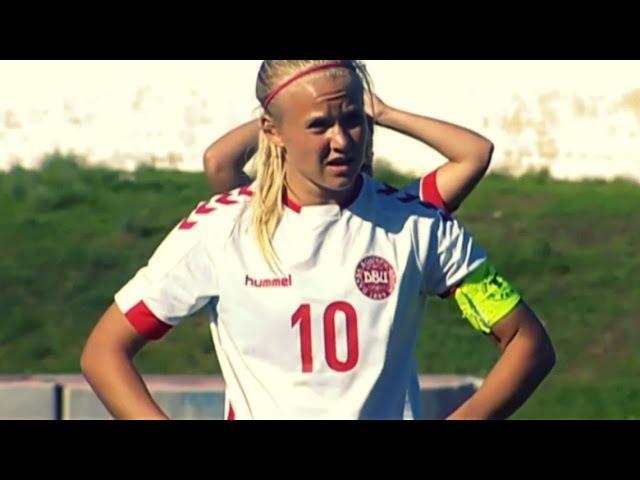 Pernille Harder в матче против сборной Австралии AlgarveCup ⊕ 2017