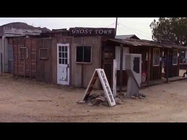 Итан и Элайджа посещают город-призрак хлорида в Аризоне. Tour of Chloride Ghost Town in Arizona