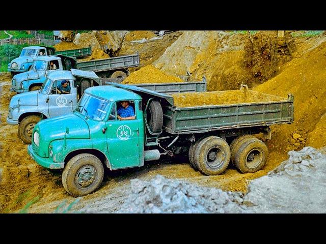 Иномарки в СССР грузовики из Чехословакии TATRA SKODA-LIAZ PRAGA AVIA