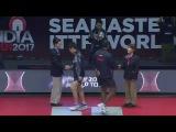 ACHANTA Sharath Kamal vs HARIMOTO Tomokazu - 2017 India Open Men's Singles Semi Finals