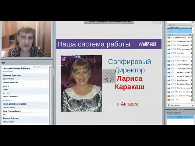 Вэлнэс вебинар Работа с возражениями Лариса Каракаш