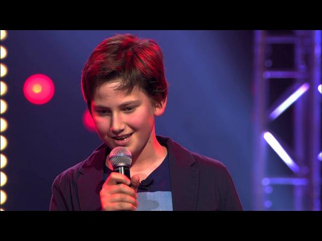 Emiel – 'Ik denk aan Jou' | Blind Audition | The Voice Kids | VTM