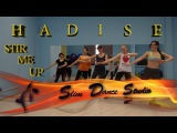 Latin Dance Fitness (Zumba) Workout for beginners Step By Step With Music Hadise Stir Me Up