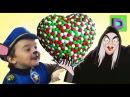 Щенячий Патруль Гигантская Шоколадная Конфета Злая ведьма варит зелье из кинде