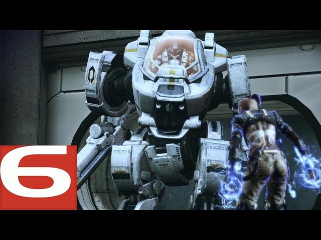 Mass Effect 3 Прохождение - 6 - Атлас, Джек, Гриссомская академия