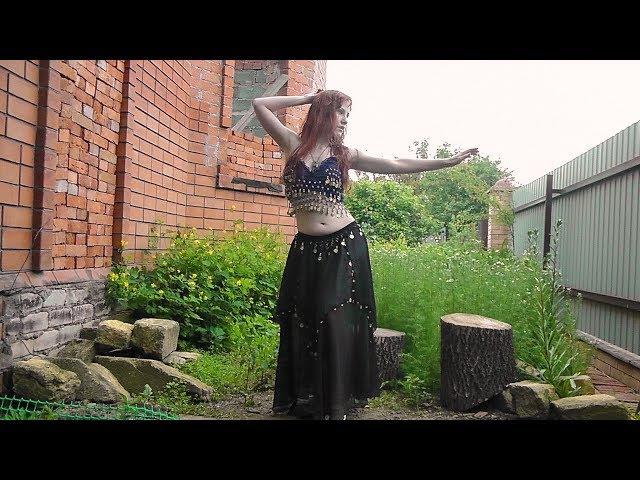Танец живота с платком Клон/Zahma Ya Dunia El Clone/Bellydance with veil