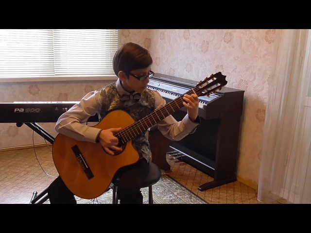 Fandango (spanish folk dance) performed by Svyatoslav Shirokov 12yo Chelyabinsk