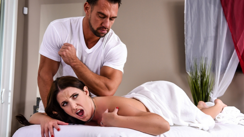 The Wrong Massage Feels So Right Johnny Castle Angela